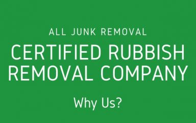 Fully Certified Waste Clearance Company